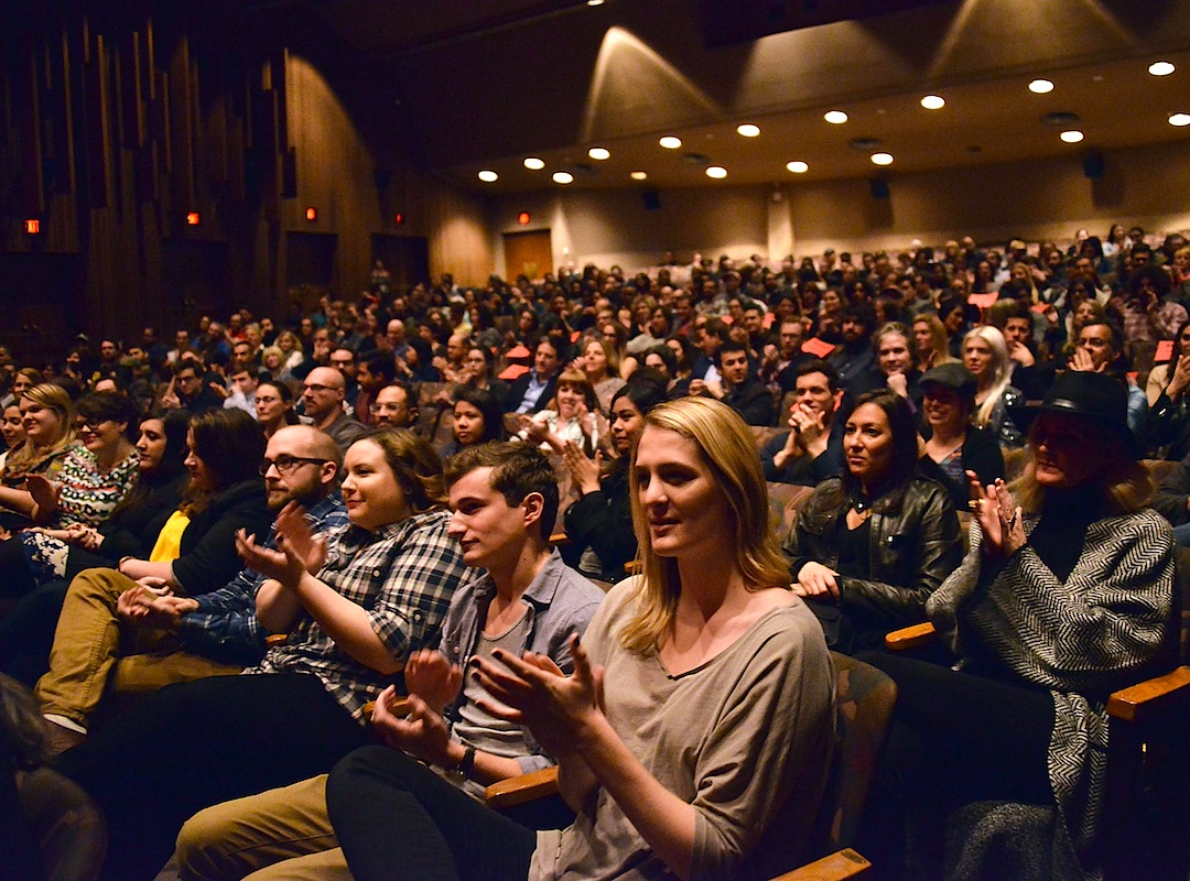 "LOS ANGELES, CA - JANUARY 15:  A general view of atmosphere at the Film Independent at LACMA screening and Q&A of ""Kroll Show"" at Bing Theatre At LACMA on January 15, 2015 in Los Angeles, California.  (Photo by Araya Diaz/WireImage)"