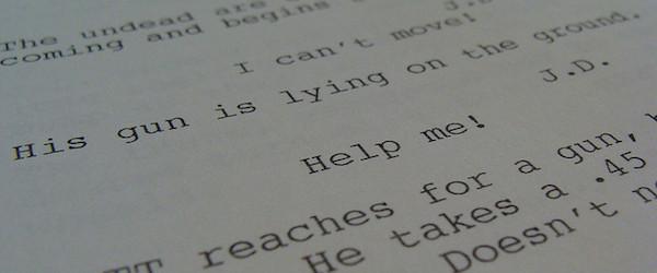 resident evil screenplay
