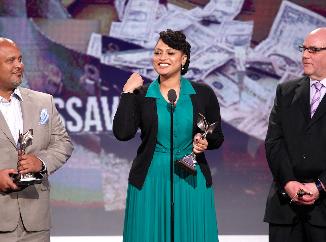 onstage during the 2013 Film Independent Spirit Awards at Santa Monica Beach on February 23, 2013 in Santa Monica, California.