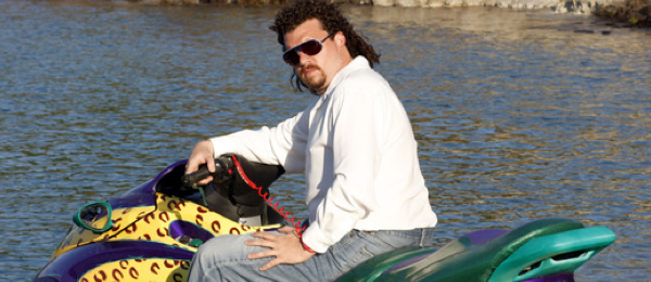 """premium selection eacf3 a5ee6 Kenny Powers riding """"The Panty Dropper"""""""